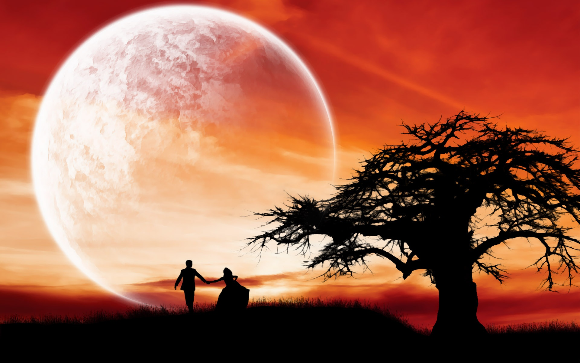 hd-love-couple-wallpaper-supermoon-romantic-night-x