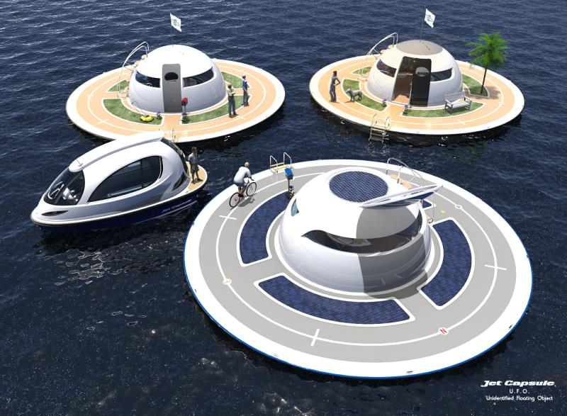 The Spiritual Home From The Future - Jet Capsule 2