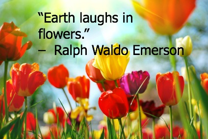 Happy earth day 10 powerful spiritual quotes about earth day gostica - Happy spring day image quotes ...