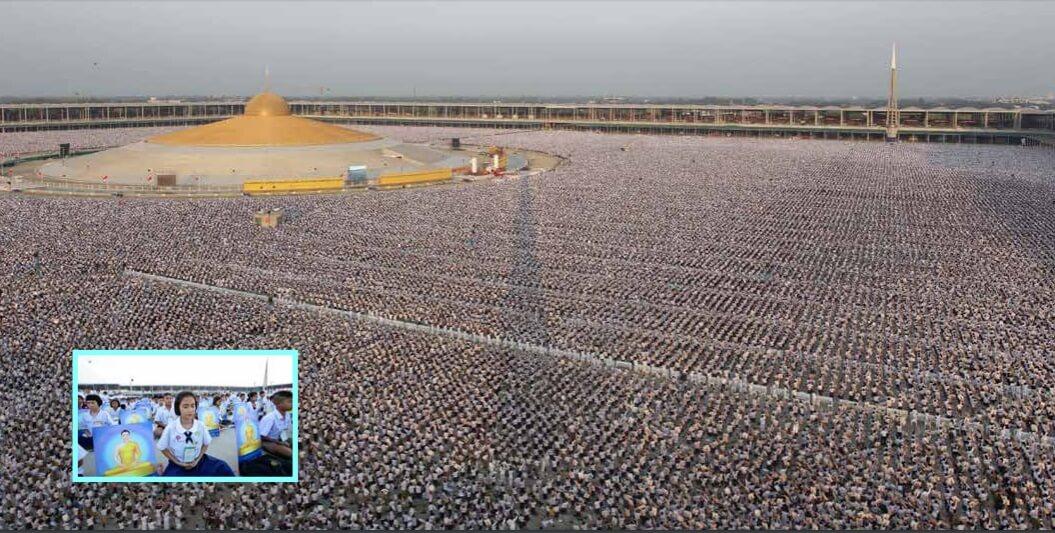 1 million children meditating