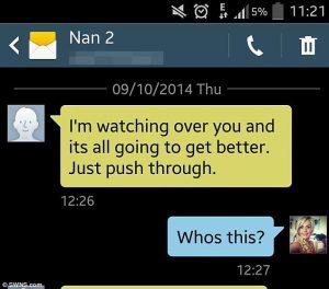 sms from spirit