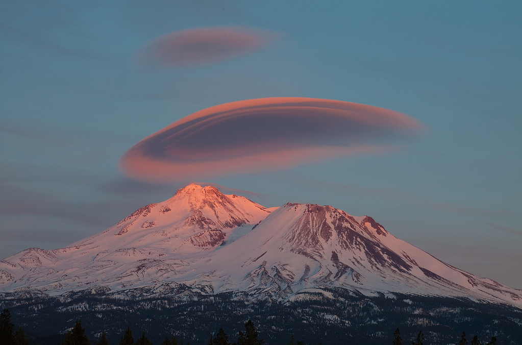 1st Chakra –Mt. Shasta in California