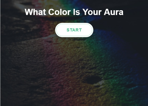 What is your aura color test