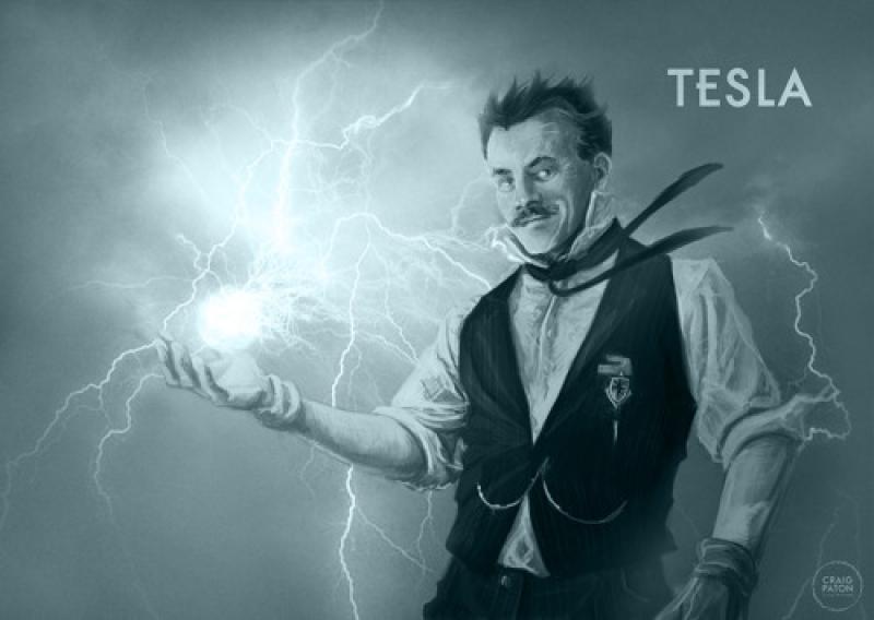 Nikola Tesla Psychic