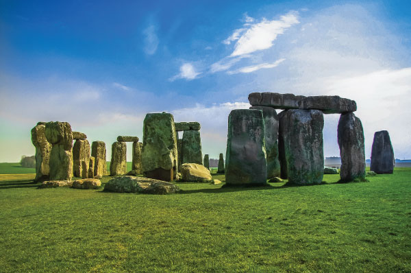 7. Stonehenge, Wiltshire, England