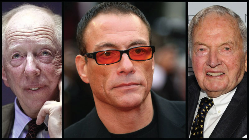 Jean-Claude Van Damme Exposed The Rockefellers And Rothschilds On Live TV