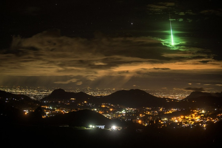 A Gorgeous Green Meteor Lit Up The Indian 'Sky Islands' And We Had No Clue About It
