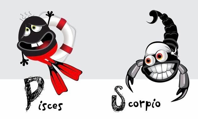Scorpio and Pisces