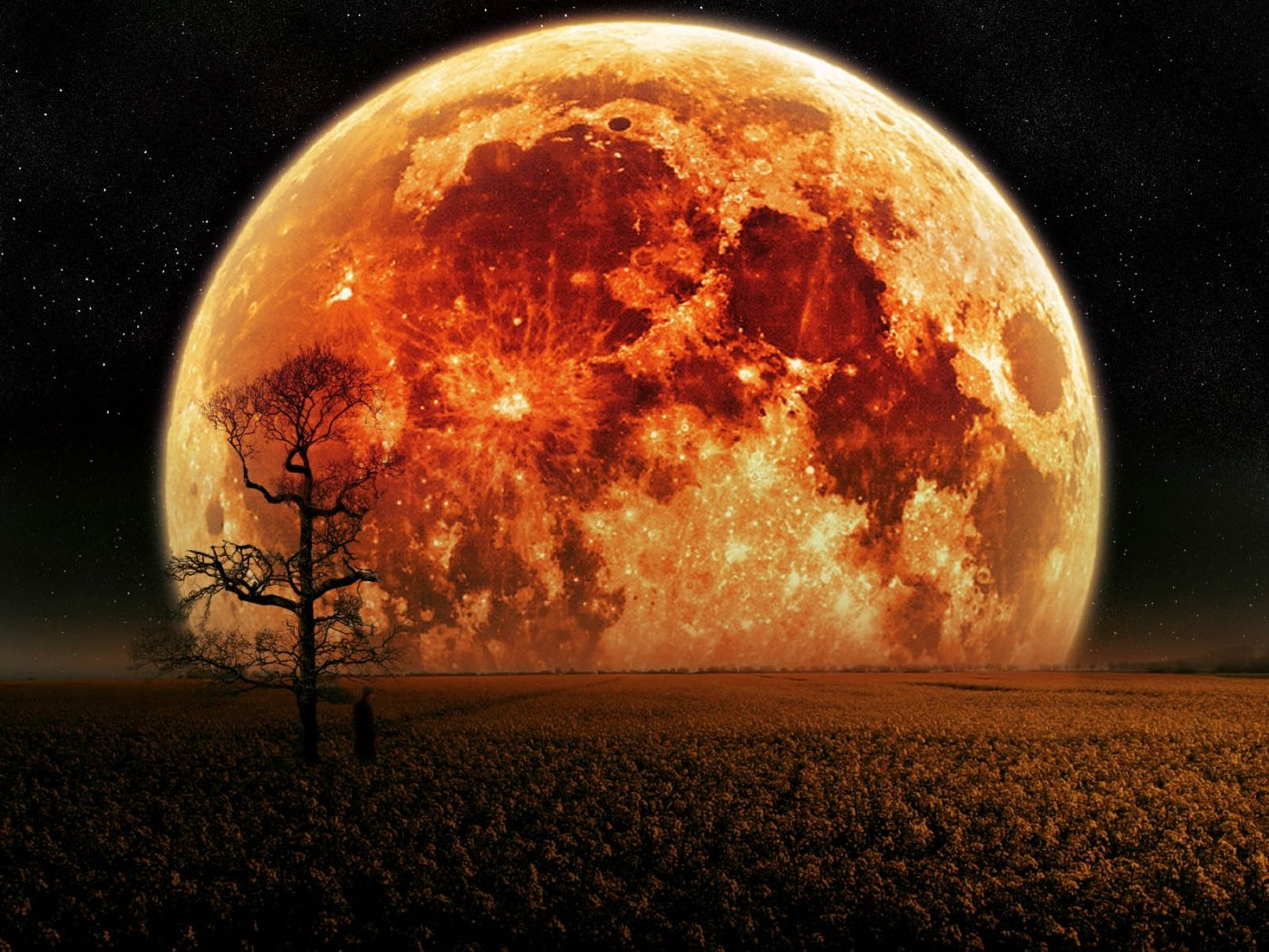 Full Hunter Moon In Aries October 5: Powerful Shift Brings Passion, Intensity & Power