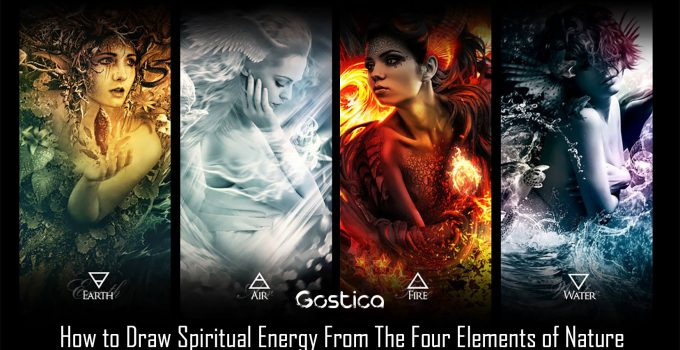 How to Draw Spiritual Energy From The Four Elements of Nature 1