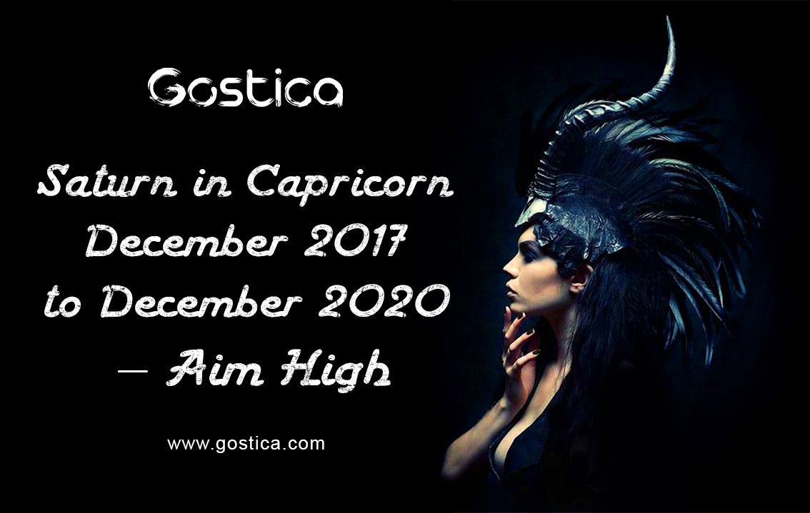 Saturn in Capricorn December 2017 to December 2020 – Aim