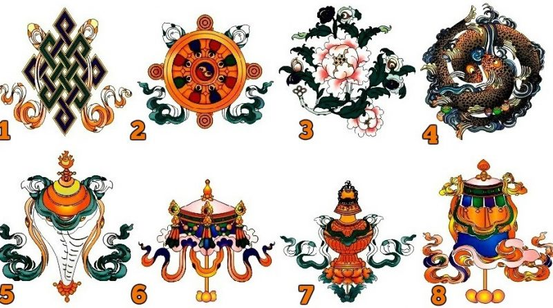 The Ancient Tibetan Symbols Of Good Fortune Which One Is Your