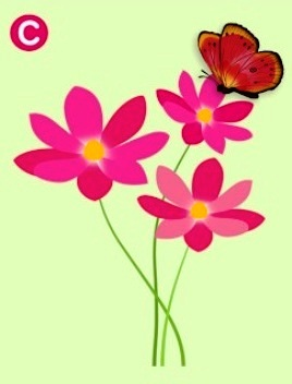 Which Flower Will The Butterfly Land On? The Answer Reveals The Truth About Your Relationship! 3