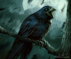 Full Crow Moon In Virgo – Feel The Feminine Power & Strength Arising 1