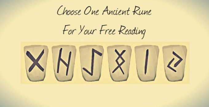 Choose One Ancient Rune For Your Free Reading 1