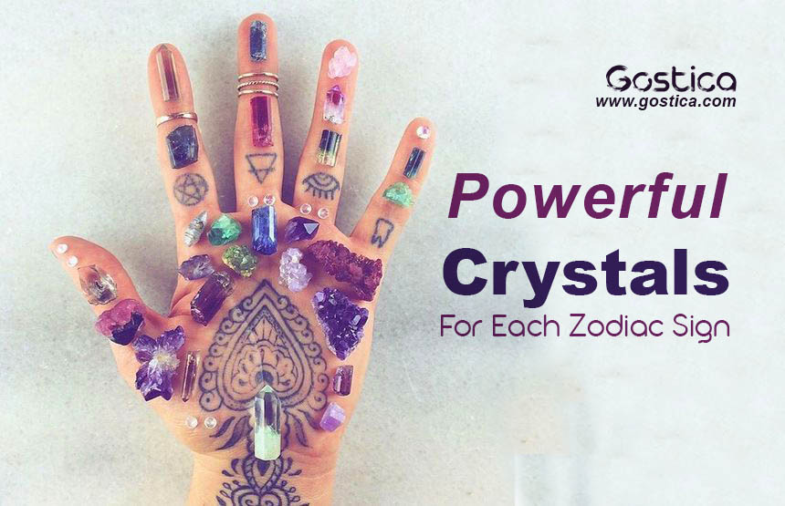 Powerful crystals for each zodiac sign for Crystals and zodiac signs
