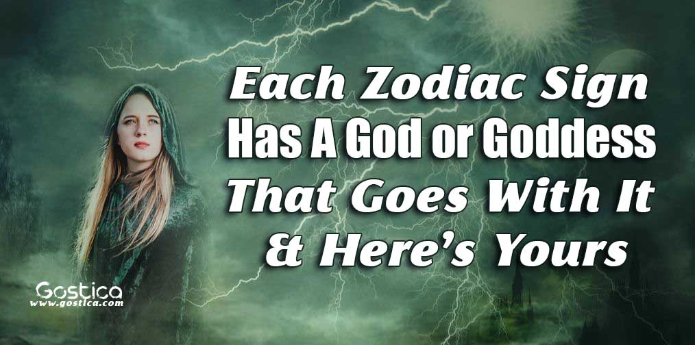 Each Zodiac Sign Has A God or Goddess That Goes With It