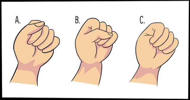 The way you make a fist says a lot about your Personality 1