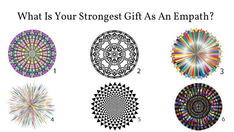 What Is Your Strongest Gift As An Empath? Choose One Circle To Find Out 1