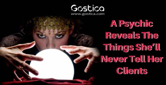 A Psychic Reveals The Things She'll Never Tell Her Clients 1