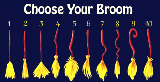 Choose Your Broom and Discover What Kind Of Witch You Are 1