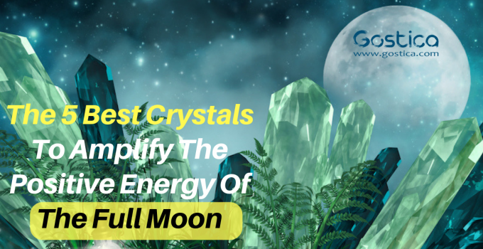 The 5 Best Crystals To Amplify The Positive Energy Of The Full Moon 25
