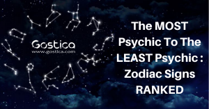 The MOST Psychic To The LEAST Psychic : Zodiac Signs RANKED 1