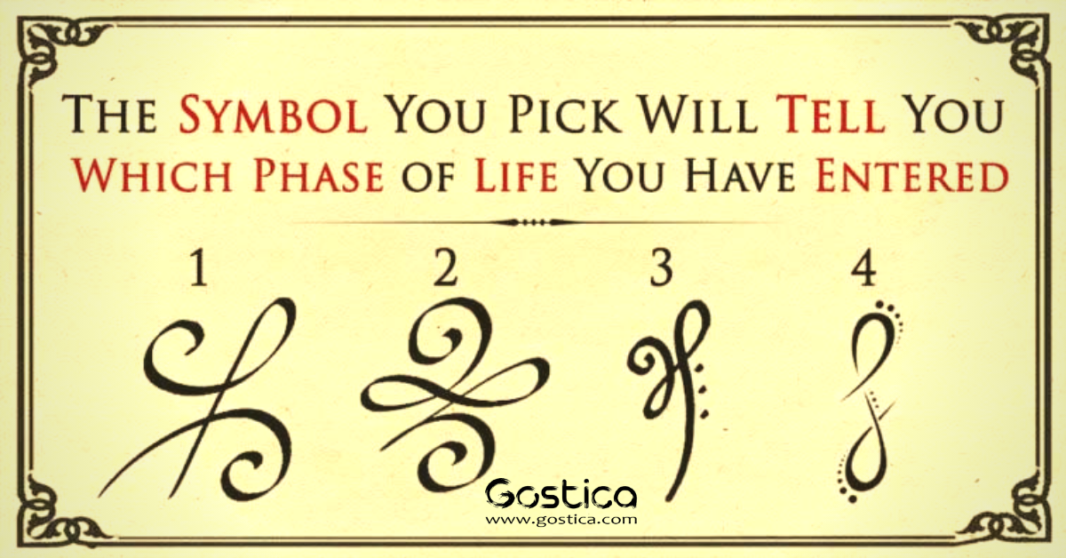 The Symbol You Pick Will Tell You Which Phase of Life You Have Entered 1