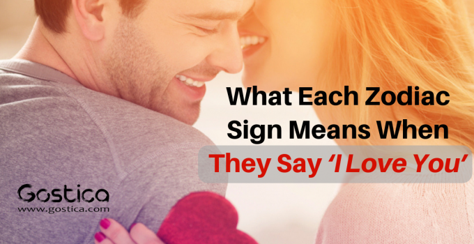 What Each Zodiac Sign Means When They Say 'I Love You'