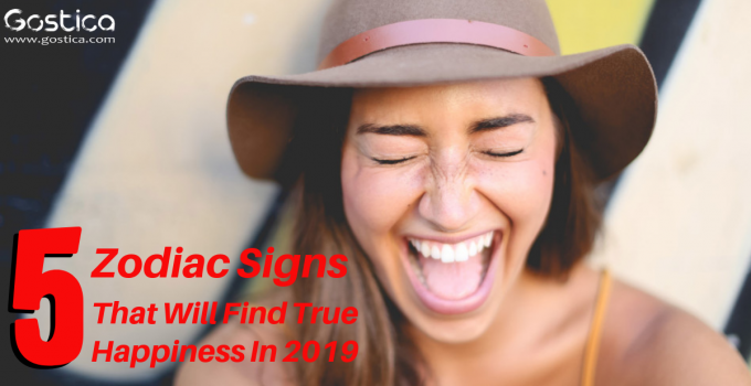 5 Zodiac Signs That Will Find True Happiness In 2019