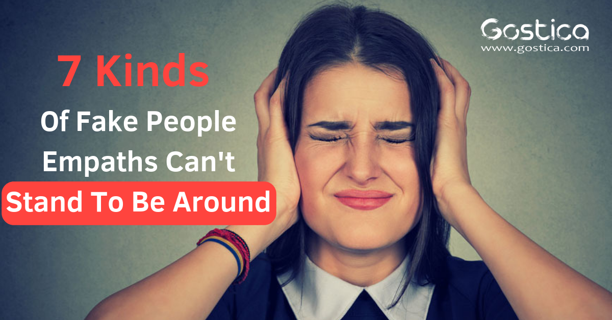 7 Kinds Of Fake People Empaths Cannot Stand To Be Around 1
