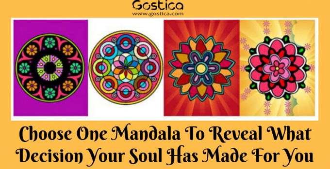 Choose One Mandala To Reveal What Decision Your Soul Has Made For You