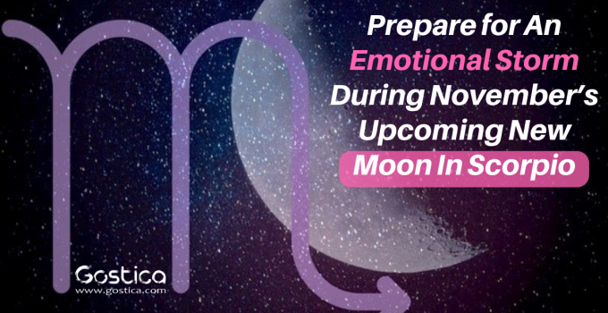 Prepare for An Emotional Storm During November's Upcoming New Moon In Scorpio