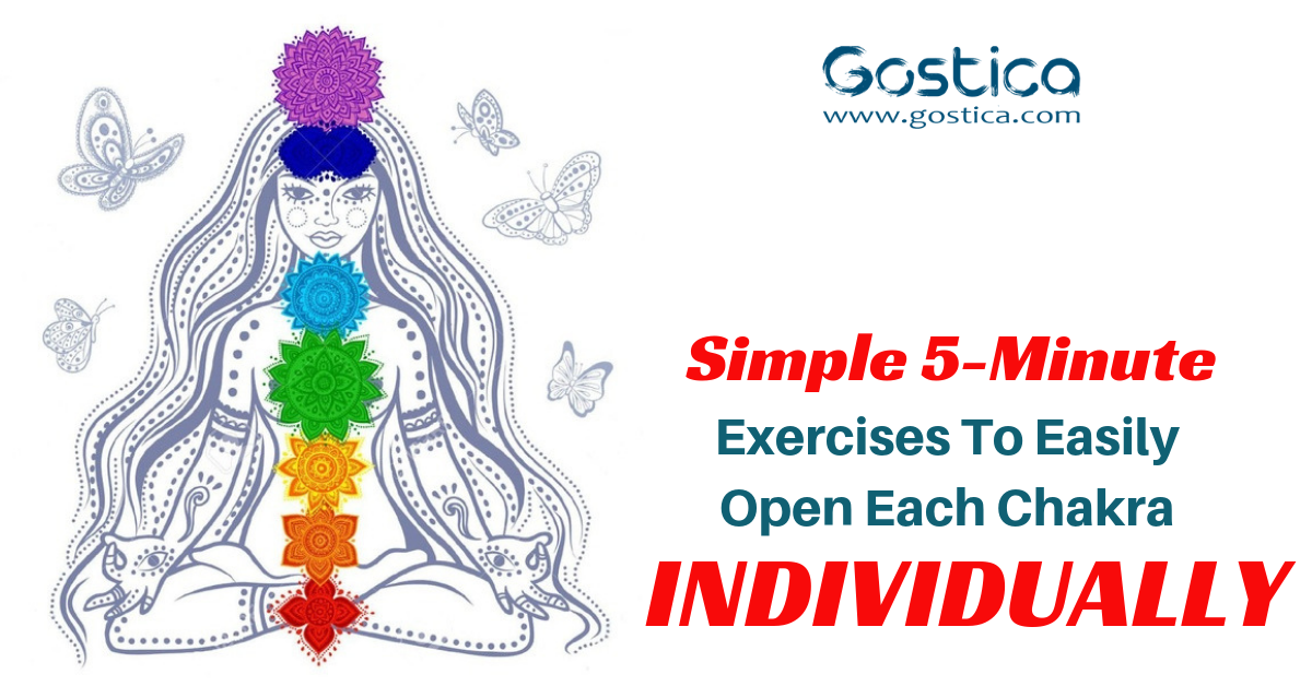 Simple 5-Minute Exercises To Easily Open Each Chakra Individually 1