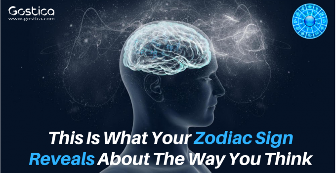 This Is What Your Zodiac Sign Reveals About The Way You Think