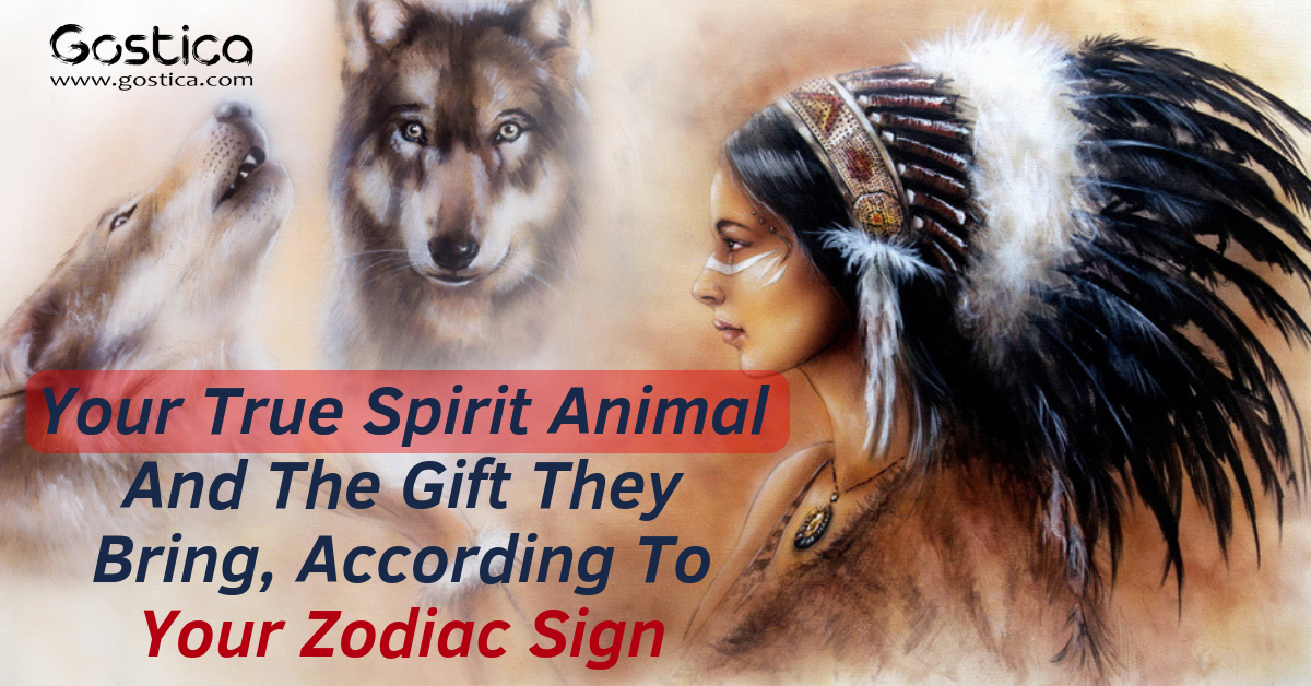 Your True Spirit Animal And The Gift They Bring, According To Your Zodiac Sign 1