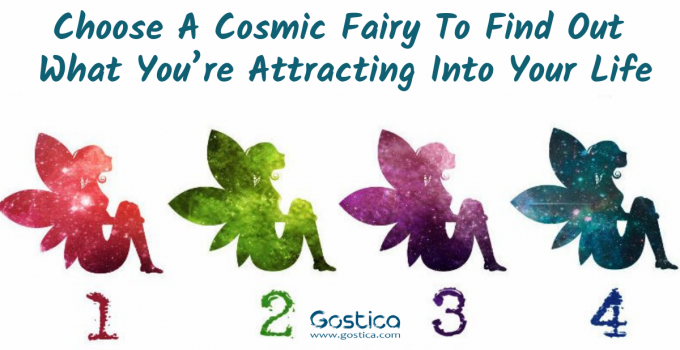 Choose A Cosmic Fairy To Find Out What You're Attracting Into Your Life