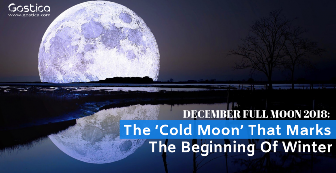 December Full Moon 2018: The 'Cold Moon' That Marks The Beginning Of Winter 3