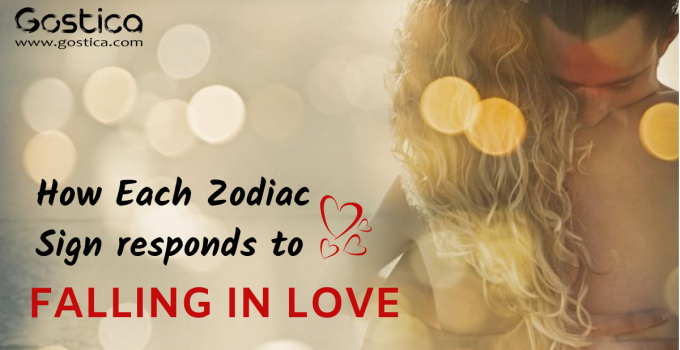 How Each Zodiac Sign Responds to Falling in Love