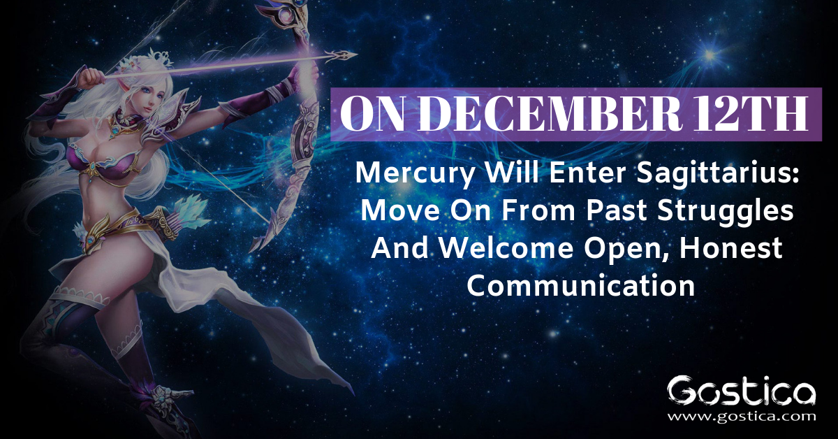 On December 12th Mercury Will Enter Sagittarius: Move On From Past Struggles And Welcome Open, Honest Communication 1
