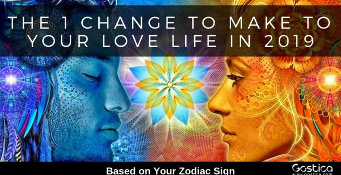 The 1 Change To Make To Your Love Life In 2019, Based On Your Zodiac Sign 1