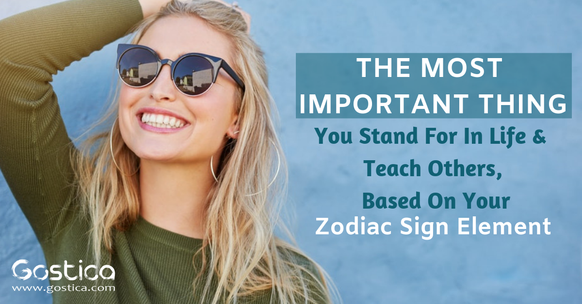 The Most Important Thing You Stand For In Life & Teach Others, Based On Your Zodiac Sign 1