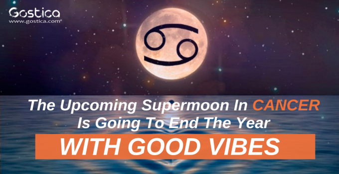 The Upcoming Supermoon In Cancer Is Going To End The Year With Good Vibes
