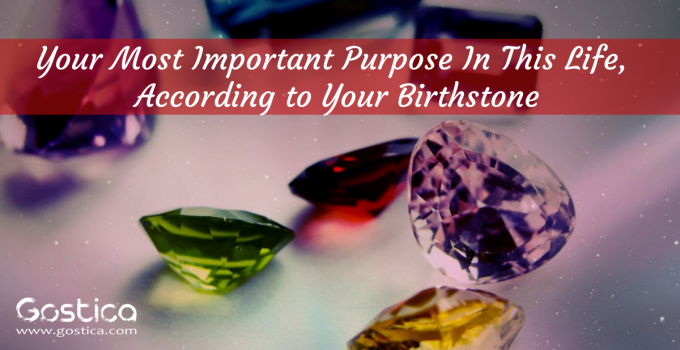 Your Most Important Purpose In This Life, According to Your Birthstone
