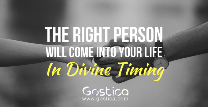 The Right Person Will Come Into Your Life In Divine Timing 17