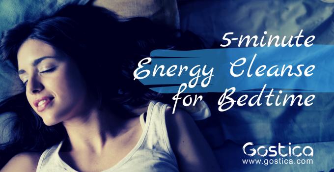 energy cleanse, bedtime
