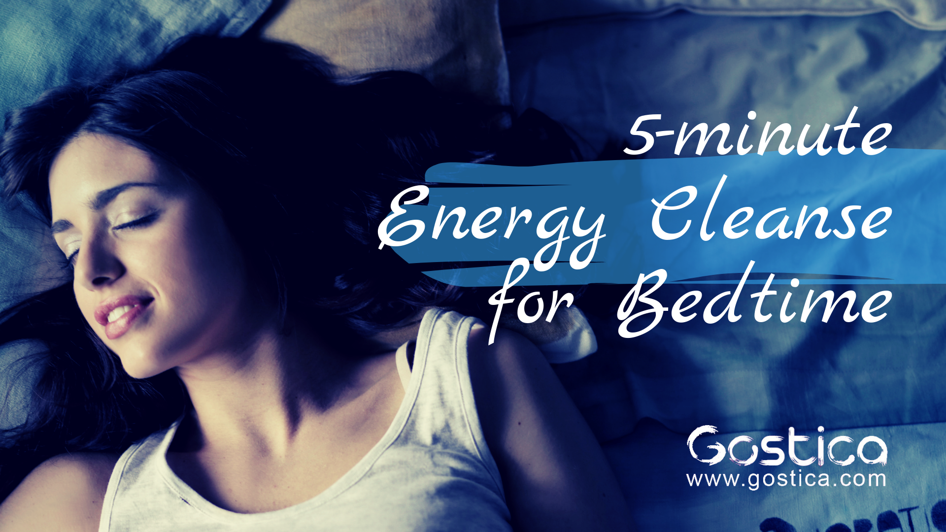 energy cleanse, bedtime