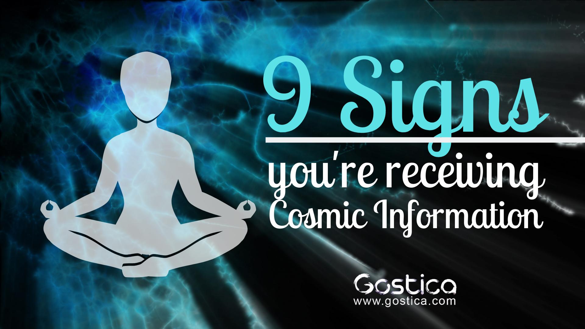 cosmic information