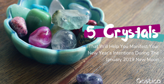 5 Crystals That Will Help You Manifest Your New Year's Intentions During The January 2019 New Moon 1