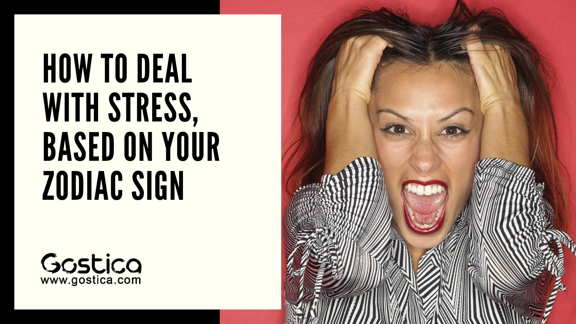 Stress relief zodiac sign